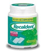 Recaldent Chewing Gum